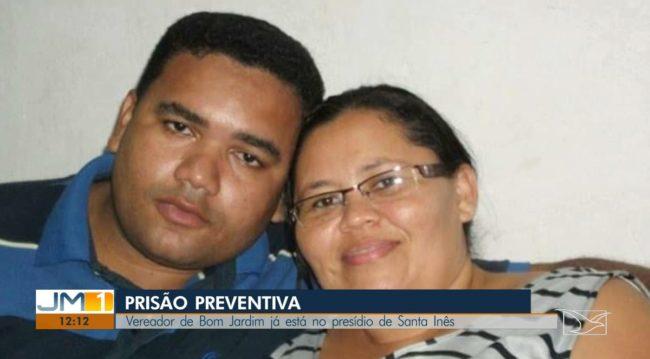 Antônio Cesarino e a esposa Ana Lídia Cesarino são suspeitos de desviar mais de R$ 100 mil dos cofres da Câmara de Vereadores de Bom Jardim (MA)