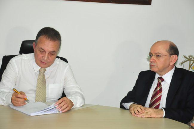 Luis Fernando e Eudes Sampaio
