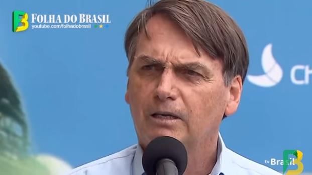 Presidente Jair Bolsonaro em Sobradinho (BA)