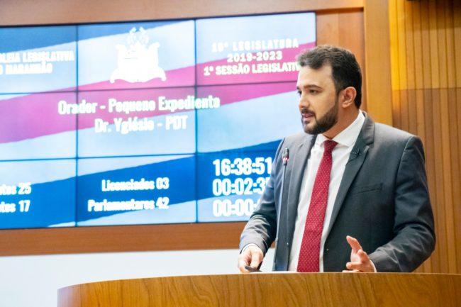 Deputado estadual Yglésio