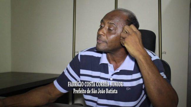 Ex-prefeito Fabrício Costa Correa Júnior