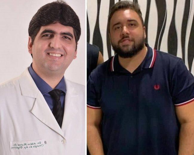 Médico Abdon Murad Júnior e Pedro Henrique Souza de Sampaio