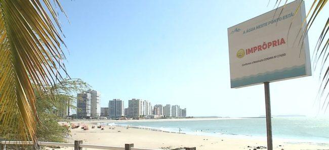 Maioria dos pontos em praias de São Luís estão impróprias ao banhos