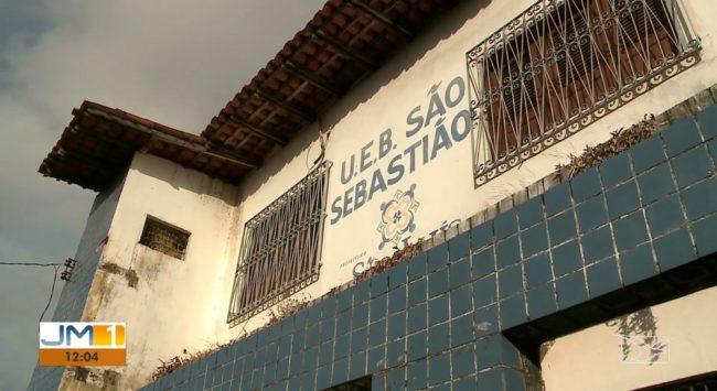 Prédio que abriga a Unidade de Ensino Básico São Sebastião em São Luís está com quatro anos de aluguel atrasado