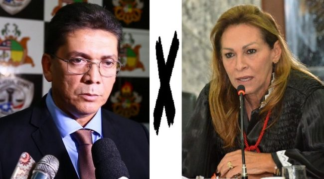 Secretário Jefferson Portela anuncia que vai processar a desembargadora Nelma Sarney
