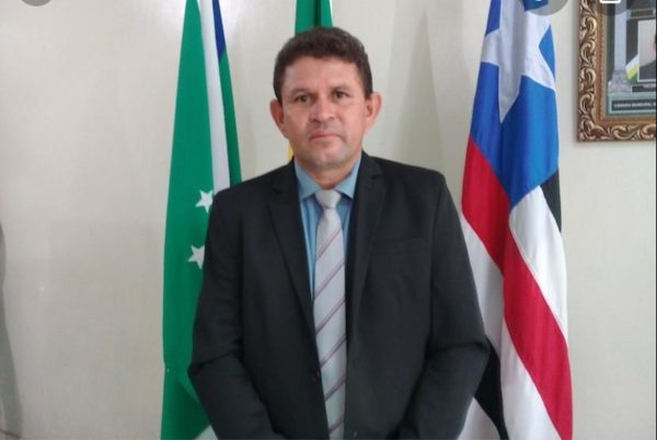 Vereador Valdinar, presidente da Câmara de Bela Vista do Maranhão