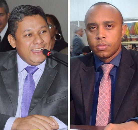 Vereadores Honorato Fernandes e Beto Castro