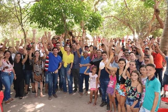 Servidores e moradores satisfeitos com o evento