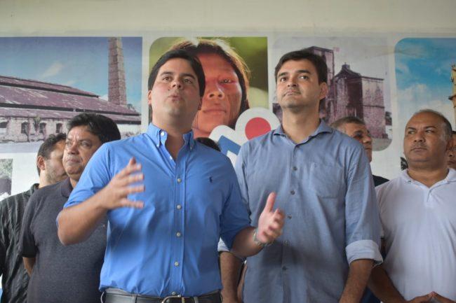 Márcio Jerry, André Fufuca, Rubens Júnior e o pré-candidato a vereador Didi