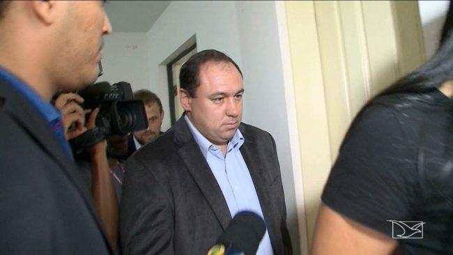 Tiago Bardal depôs na sede da Superintendência de Combate à Corrupção (Seccor) em São Luís