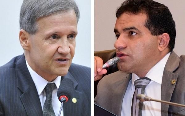 Deputados federais Aluísio Mendes e Josimar de Maranhãozinho