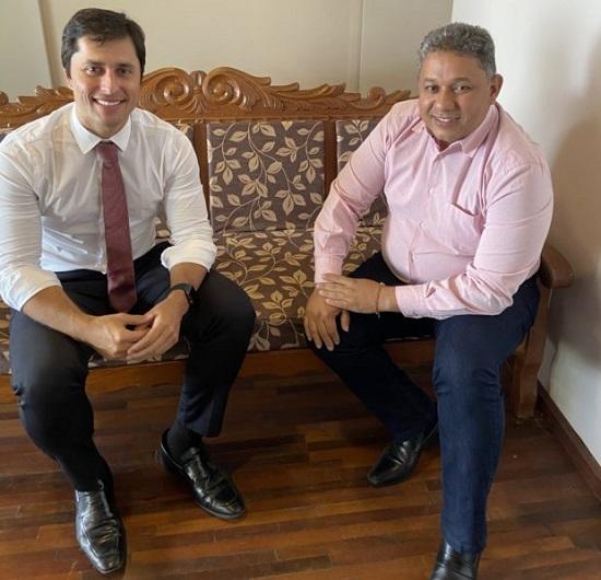 Duarte Jr e o presidente do PT de São Luís