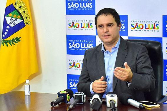 Edivaldo Holanda Júnior, prefeito de São Luís-MA