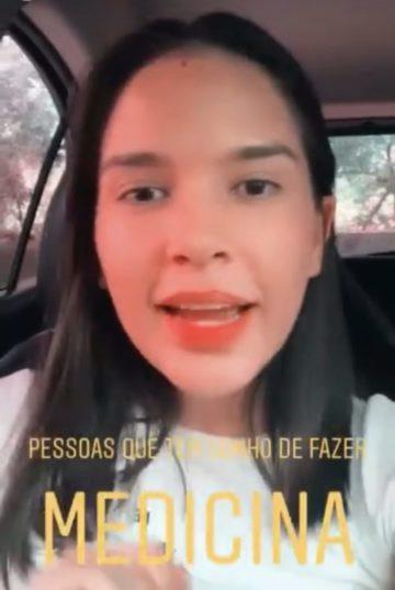 Estudante Jéssica Portilho