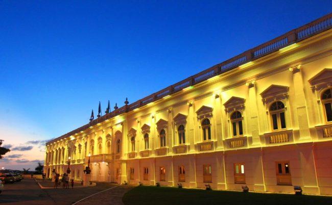 Fachada do Palácio dos Leões, sede do governo do Maranhão