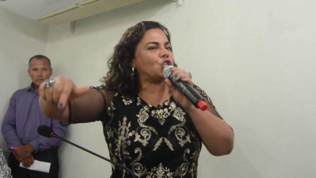 Núbia Dutra, ex-primeira-dama de Paço do Lumiar
