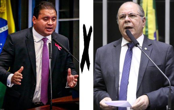 Senador Weverton Rocha e o deputado Hildo Rocha