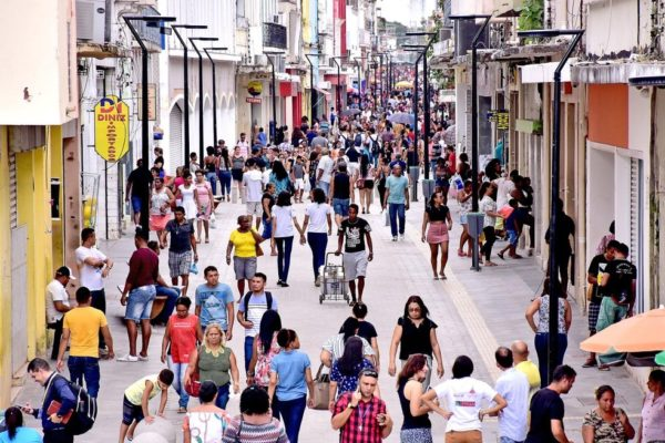 Rua Grande, em São Luís-MA
