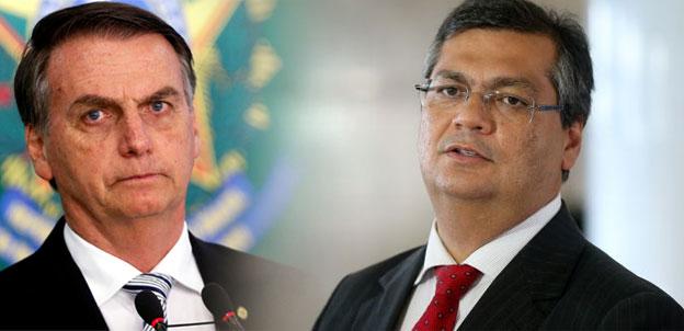 Bolsonaro e Flávio Dino travam embates de decretos