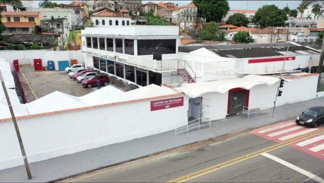 Centro de Testagem da Beira-Mar em São Luís (MA)