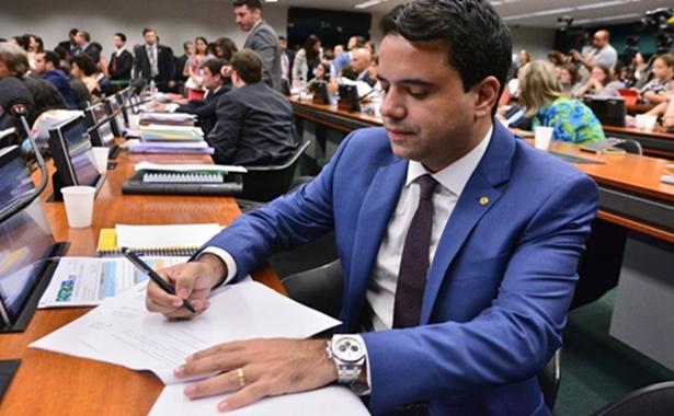 Deputado Edilázio na Câmara Federal