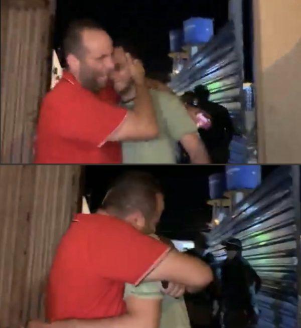 Ayrton é recebido calorosamente pela família ao deixar a prisão