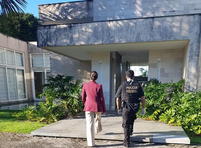 Polícia Federal realiza buscas na casa do governador, Helder Barbalho