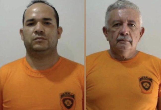Secretários Amaury Silva e Célio Teixeira