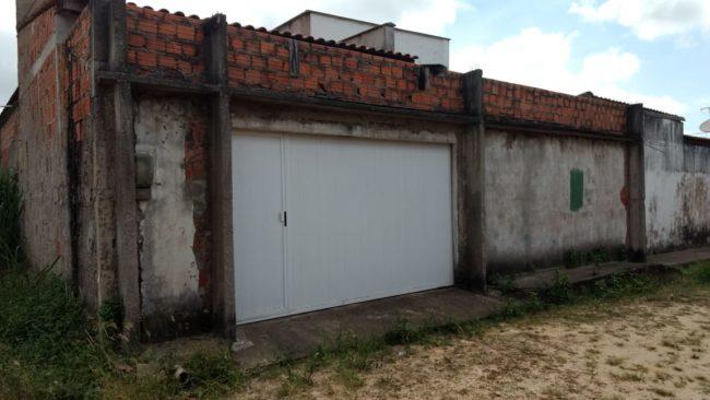 Casa alugada onde foram encontrados documentos da Prefeitura de Cândido Mendes