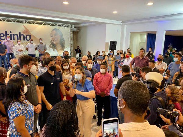 Detinha desiste da candidatura para apoiar Duarte Júnior