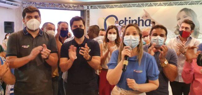 Duarte Júnior recebe apoio do casal Detinha e Josimar em São Luís