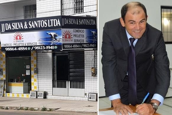 Empresa J J da Silva & Santos LTDA contratada prefeito Chico Velho, de Maracaçumé-MA