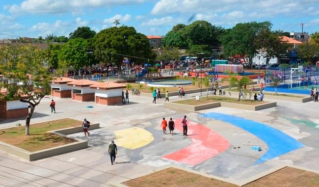 Inauguração da nova Praça do Centenário, em Pinheiro-MA