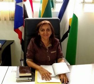 Valmira Miranda, prefeita de Colinas