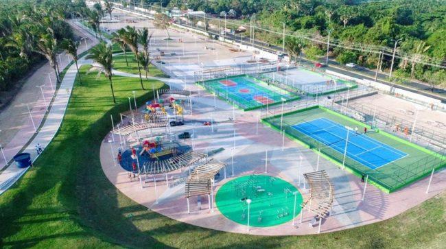 Quadras e praças esportivas voltam a funcionar nos Parques Rangedor, Itapiracó e Lagoa da Jansen