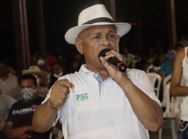 Candidato Zequinha com chances reais de ser o próximo prefeito de Apicum-Açu
