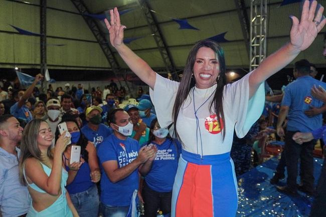 Candidata Paula Noleto mostra força em Alto Alegre do Maranhão