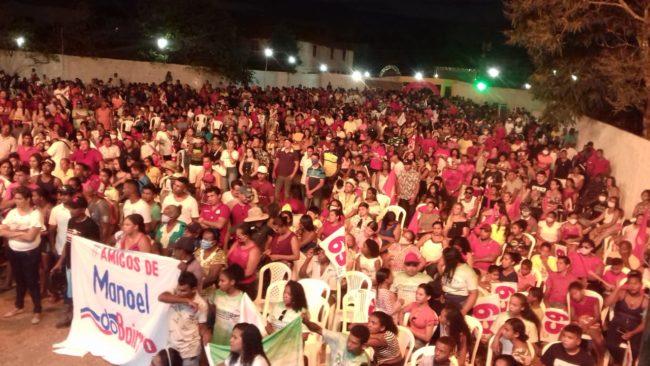 Convenção de Toca Serra tem forte presença da população em Pedro do Rosário