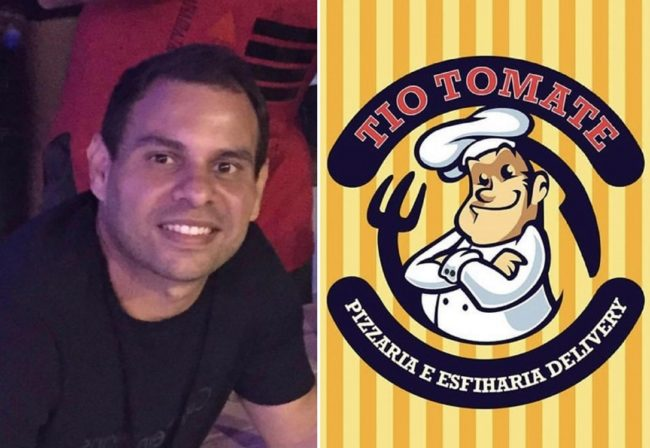 Empresário Eduardo Viégas, dono da pizzaria Tio Tomate