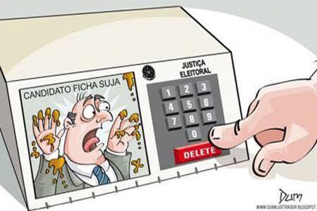 O TSE liberou fichas-sujas de 2012 a participar das eleições deste ano