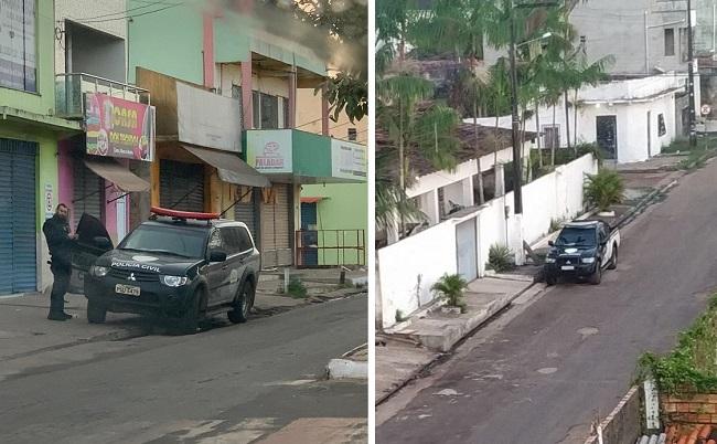 Polícia em Governador Nunes Freire