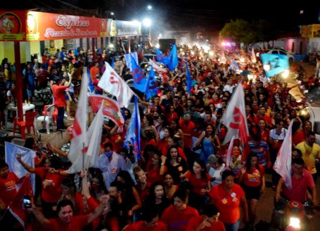 População abraça à reeleição de Idan em Santa Filomena