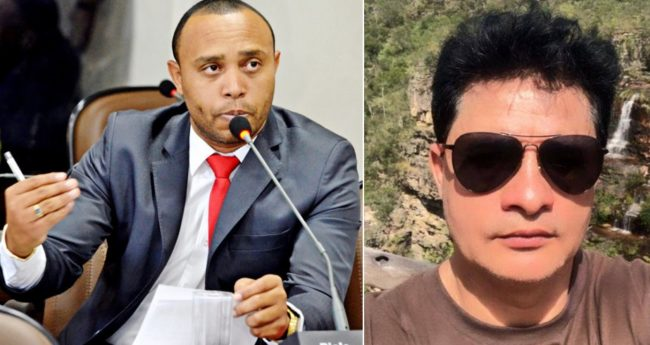 Vereador Beto Castro e o lobista Magalhães na mira da PF