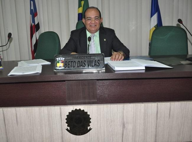Vereador Beto das Vilas