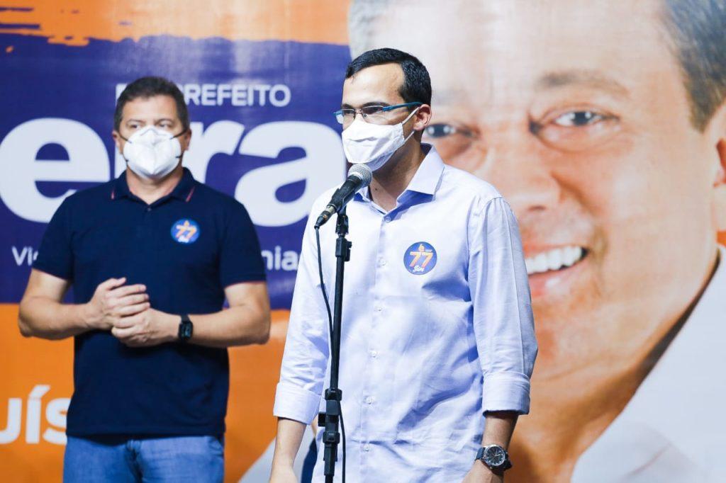 Foram oficializados os nomes de José Carlos Madeira e Capitão Jeremias, como candidatos a prefeito e vice-prefeito