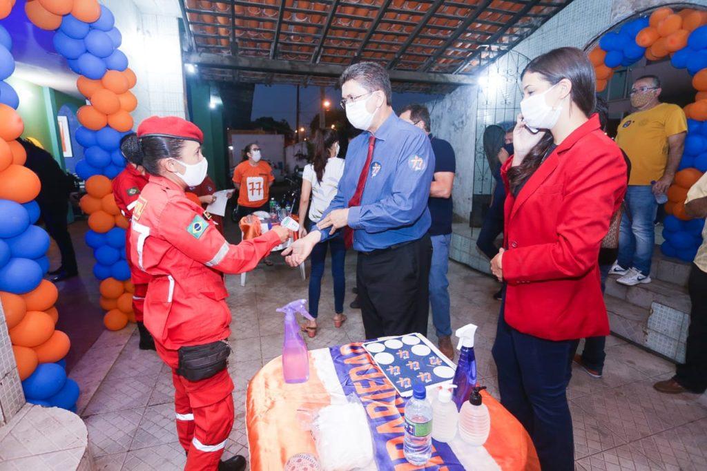 O evento contou com a participação efetiva de lideranças políticas e comunitárias