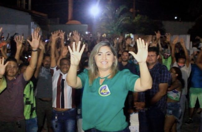 Candidata Ociléia Fernandes