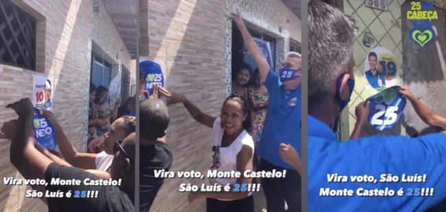 Atitude de Neto Evangelista contra Eduardo Braide e Duarte Júnior demonstra desespero
