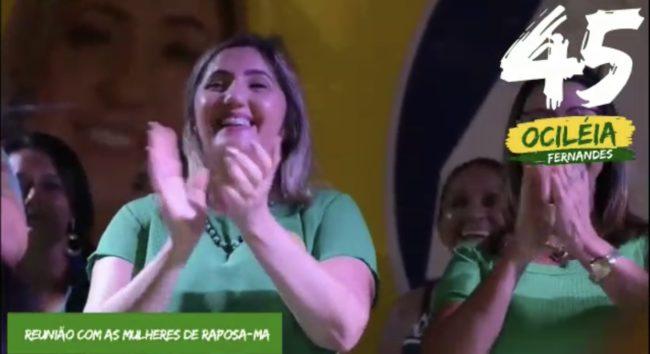 Ociléia Fernandes é aclamada pelas mulheres