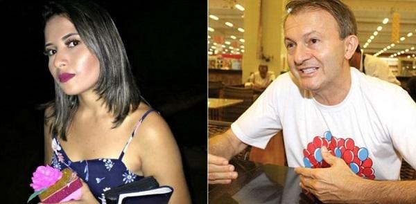 Funcionária do Mix Mateus, que morreu durante o acidente, Elane de Oliveira Rodrigues, e o empresário Ilson Mateus
